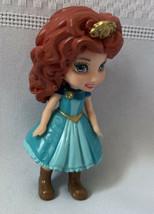 "DIsney Store Mini Princess Merida 3"" Action Figure Poseable Arms & Legs - $10.39"