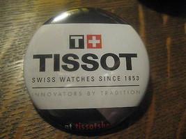 Tissot Swiss Watch Publicidad Promocional 2012 Espejo Compacto - $19.75