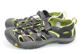 KEEN Black Neon Green Waterproof Sandals Size 5 Women - $23.36