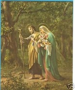 Catholic Print Picture HOLY FAMILY Mary St Joseph Jesus by SIMEONE 8x10 ... - $14.01