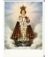 "Catholic Print Picture Infant Jesus of Prague 8x10"" ready for framing - $14.01"