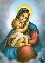 """Catholic Print Picture MOTHER OF DIVINE GRACE Mary - 7 1/2 x 10"""" ready t... - $14.01"""