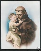 "Catholic Print Picture  St. Anthony Padua Baby Jesus - ready to frame 8x10"" - $13.09"