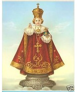 "Catholic Print Picture Infant Jesus of Prague SIMEONE art 8x10"" from Italy - $14.01"