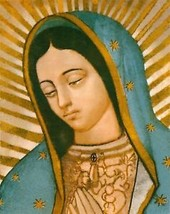 """Catholic Print Picture OUR LADY OF GUADALUPE Mary - 8x10"""" ready to frame - $14.01"""