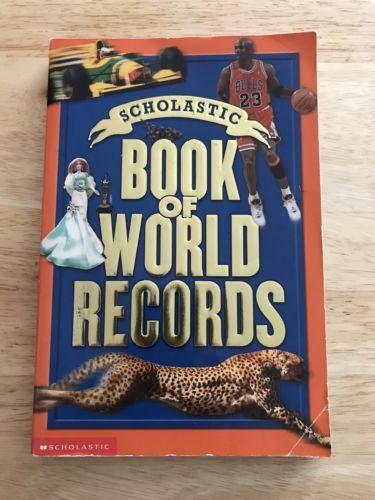Scholastic Book Of World Records, 2001, Georgian Bay Associates