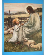 Cicely Mary Barker RECONCILIATION JESUS Child Religious Catholic Print 1... - $18.69