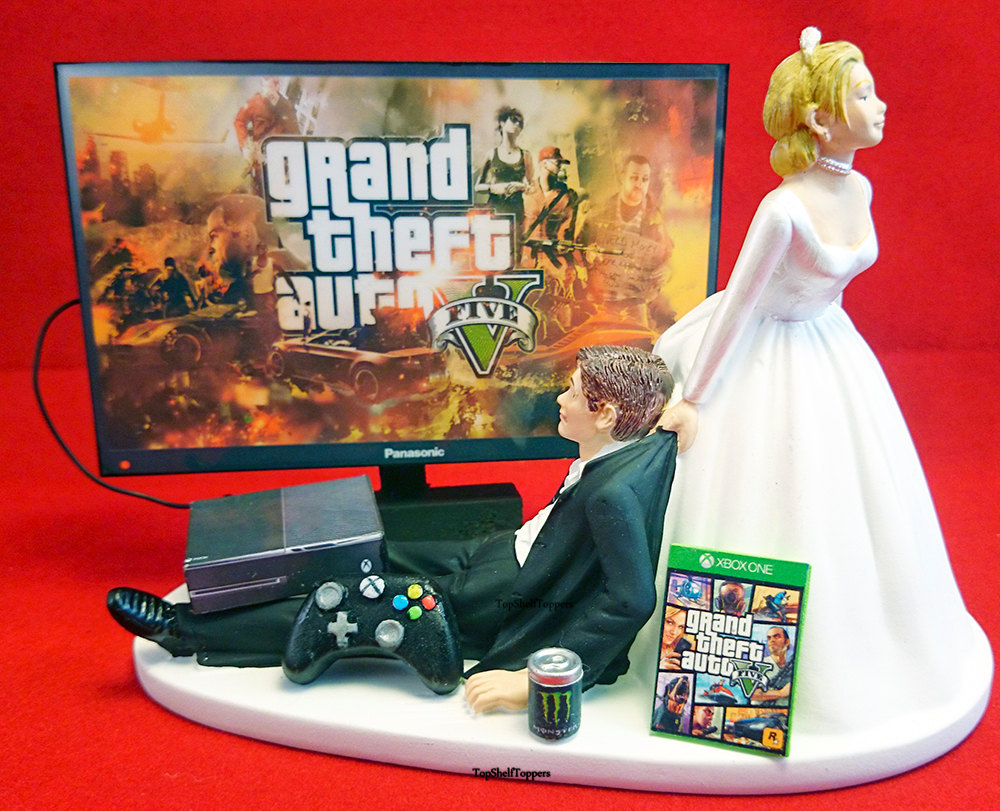 Ps Bride And Groom Cake Toppers