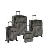 Nine West Addison 4 Piece Spinner Luggage Set; Burgundy/ Cream - $535.65