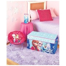 Disney's Frozen Elsa & Anna Bedroom Collection Saucer Chair Trunk Cylind... - $42.88+