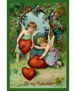 Mending Broken Hearts 12x18 Giclee on canvas - $75.90