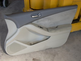 2009 NISSAN ALTIMA RIGHT FRONT DOOR TRIM PANEL