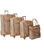 4pc Luggage Set Trendy Vacation Travel Getaway Suit Cases Spinner Carry ... - $1,516.13