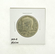 1971-D Kennedy Half Dollar (F) Fine N2-3467-17 - $0.99