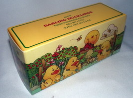 Avon Ducklings Ducks Soap Three Original Box 1983 Vintage Yellow Darling... - $19.78