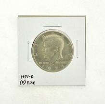 1971-D Kennedy Half Dollar (F) Fine N2-3467-19 - $0.99