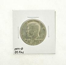 1971-D Kennedy Half Dollar (F) Fine N2-3467-21 - $0.99