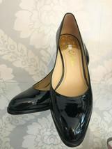 COLE HAAN Classic Black Patent Leather Pumps Sz 7 $180 - $95.93