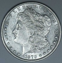 1879-O Morgan Dollar; Lustrous Choice AU - $69.29