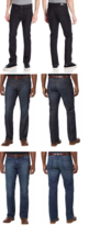 Kenneth Cole New York Men's Straight-Fit Stretch Jeans, Variety - $25.99