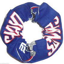 New York Giants  Hair Scrunchie Scrunchies by Sherry Tie Ponytail Holders NFL - $6.99