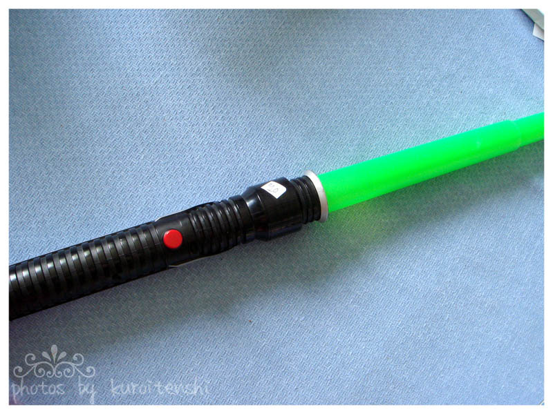 1999 Star Wars Qui-gon Jin Lightsaber Gently Used