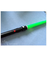1999 Star Wars Qui-gon Jin Lightsaber Gently Used - $9.00