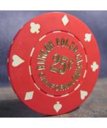 "$0.25 Casino Chip From: ""Rincon Poker Casino"" - (sku#3633) - $2.99"