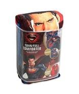 Superman Man of Steel 4 Piece Twin/Single Size Comforter Sheet Set - $70.00