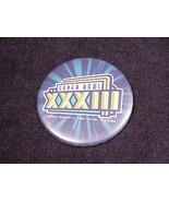 1999 Super Bowl XXXIII Pinback Button, Pin, Miami, January, 31st, 33 - $5.95