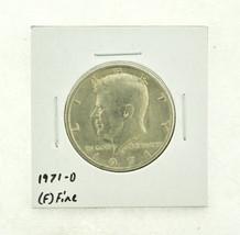 1971-D Kennedy Half Dollar (F) Fine N2-3467-26 - $0.99