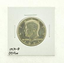 1971-D Kennedy Half Dollar (F) Fine N2-3467-28 - $0.99