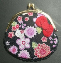"Hello Kitty Sanrio vintage limited edition Coin Purse RARE 2013 Year ""WA... - $42.32"