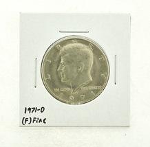 1971-D Kennedy Half Dollar (F) Fine N2-3467-32 - $0.99
