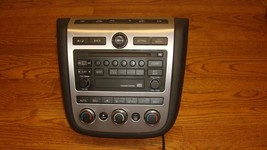 2006 NISSAN MURANO OEM Single CD Radio Player Dual Climate Control 28185-CC20A - $139.99