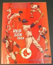1969 Boston Red Sox Baseball Score Program Scored vs Senators - $8.90