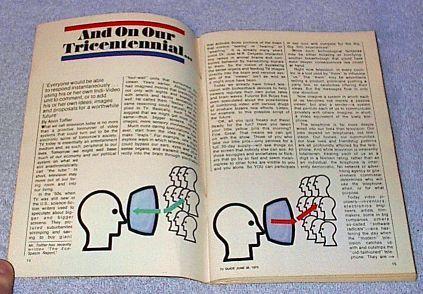 Vintage TV Guide Magazine June 1975 Bicentennial Issue Giusti cover