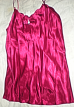 Lingerie - Size Large - Courtney  & Company - Color Red Night Gown-  Che... - $21.95