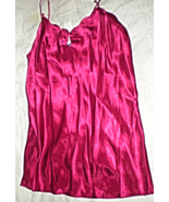 Lingerie - Size Large - Courtney  & Company - Color Red Night Gown-  Che... - $22.00