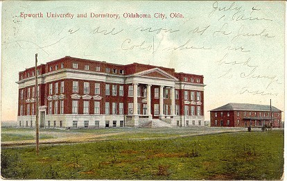 Primary image for   Epworth University Oklahoma City vintage Post Card