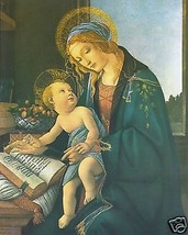 Catholic Print Picture Madonna and Child by Botticelli - ready to frame - $13.32