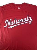 Washington Nationals 2018 MLB Youth Lg. Cool Base Tee (New) By Majestic - $14.99