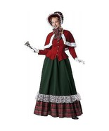 INCHARACTER CHARLES DICKENS YULETIDE LADY CHRISTMAS SANTA CLAUS COSTUME ... - $104.99+
