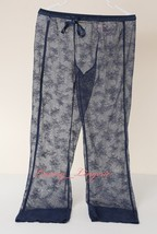 Victoria's Secret VS Floral Lace Sheer Pant Relaxed Fit Unlined S Small ... - $37.99