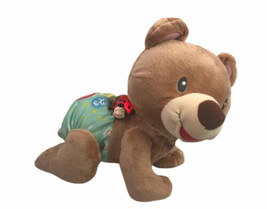 VTech Explore & Crawl Learning Bear Cub Interactive Baby Toy Talk Moves ... - $27.22