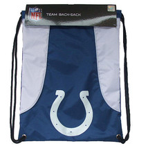 INDIANAPOLIS COLTS BACK SACK PACK SCHOOL GYM BAG NFL FOOTBALL - $15.81