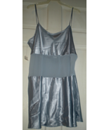 Lingerie - Size Large -Night Gown - Frederique -  Blue Chemise - $22.00