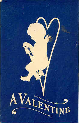 Primary image for A Valentine Cupid Vintage Post Card