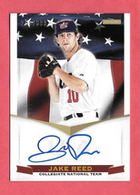 2012 Jake Reed Panini USA Baseball Rookie Auto /399 - Minnesota Twins - $1.43