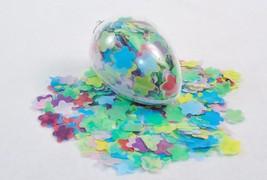Bath Soap Confetti In Egg-Shaped Ornament ~ Floral Scent, Star0 Flakes - $9.75